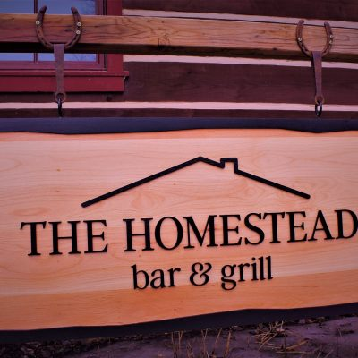 homestead sign